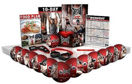 Tapout XT Extreme Training UFC MMA Home Fitness Workout Program