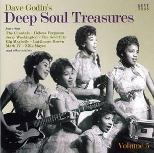 VA - Dave Godins Deep Soul Treasures Volume 5 (2019)