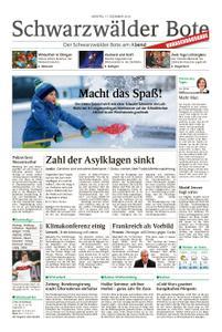 Schwarzwälder Bote Hechingen - 17. Dezember 2018