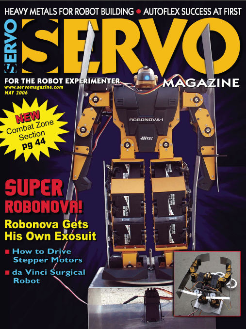 Servo Magazine, May 2006
