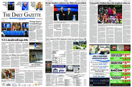 The Daily Gazette – April 14, 2020