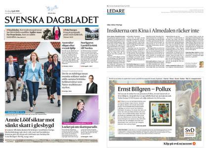 Svenska Dagbladet – 05 juli 2019