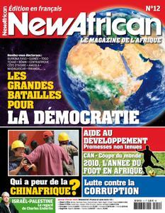 New African, le magazine de l'Afrique - Janvier - Février 2010