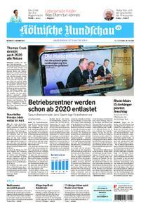 Kölnische Rundschau Wipperfürth/Lindlar – 13. November 2019