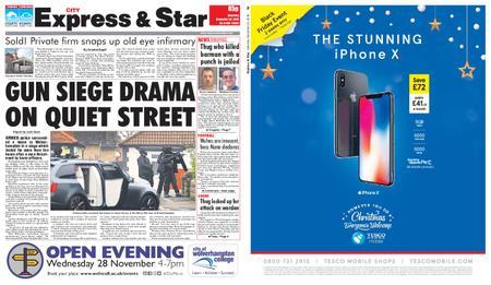 Express and Star City Edition – November 24, 2018