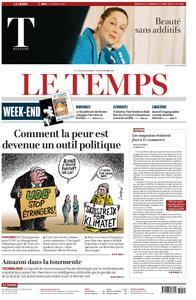 Le Temps - 06 avril 2019