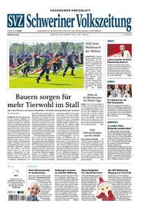 Schweriner Volkszeitung Hagenower Kreisblatt - 26. August 2019