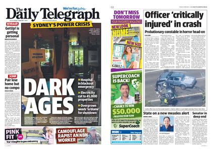 The Daily Telegraph (Sydney) – February 01, 2019