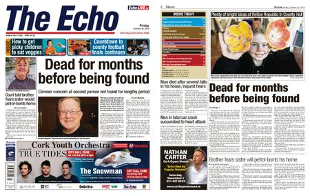 Evening Echo – October 25, 2019