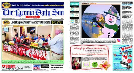 The Laconia Daily Sun – December 04, 2019