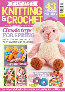 Let's Get Crafting Knitting & Crochet - Issue 109 - March 2019