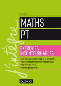 Maths PT - Exercices incontournables (2018)
