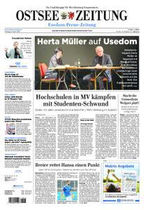 Ostsee Zeitung Wolgast - 08. April 2019