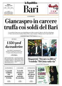 la Repubblica Bari – 18 maggio 2019