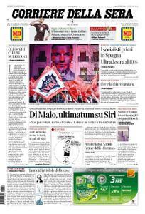 Corriere della Sera – 29 aprile 2019