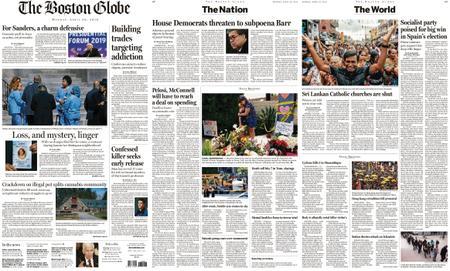 The Boston Globe – April 29, 2019