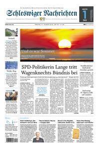Schleswiger Nachrichten - 31. August 2018
