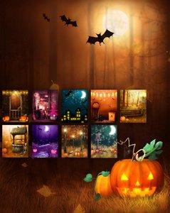Halloween Eve Backgrounds