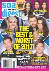 Soap Opera Digest - December 18, 2017