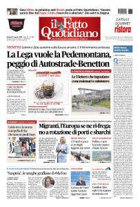Il Fatto Quotidiano - 31 agosto 2018