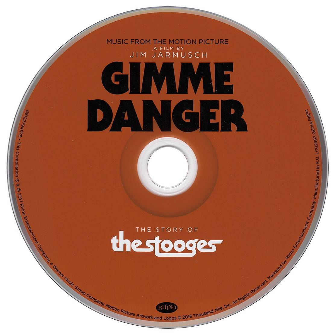 The Stooges - Gimme Danger: Music from the Motion Picture (2017) {Rhino 081227941178}
