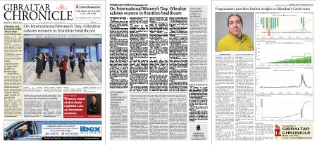 Gibraltar Chronicle – 08 March 2021