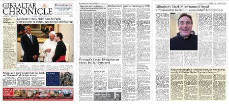 Gibraltar Chronicle – 06 February 2021