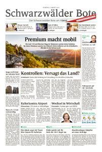 Schwarzwälder Bote Hechingen - 06. August 2019