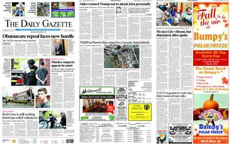 The Daily Gazette – September 23, 2017