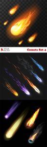 Vectors - Comets Set 4