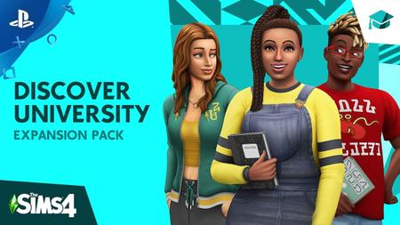 The Sims 4 Discover University (2019)