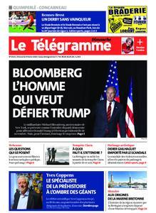 Le Télégramme Concarneau – 09 février 2020