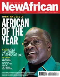 New African - December 2016