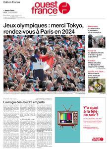 Ouest-France Édition France – 09 août 2021