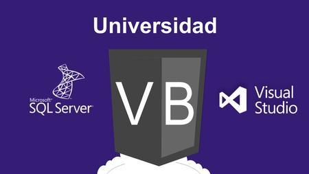 Universidad Visual Basic. net con SQLserver: De 0 a Experto