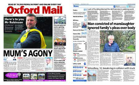 Oxford Mail – March 23, 2018