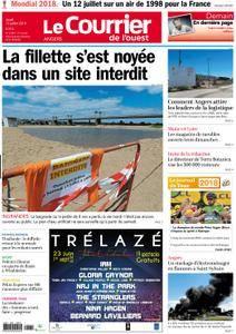 Le Courrier de l'Ouest Angers - 12 juillet 2018
