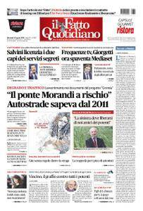 Il Fatto Quotidiano - 22 agosto 2018