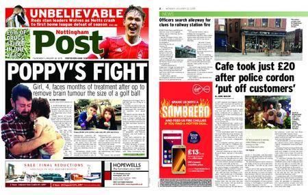 Nottingham Post – January 22, 2018