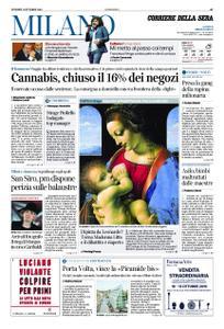 Corriere della Sera Milano – 11 ottobre 2019