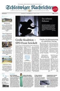 Schleswiger Nachrichten - 22. November 2017