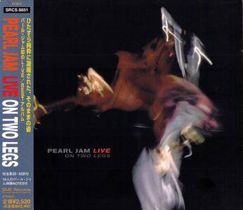 Pearl Jam - Live On Two Legs (1998) Japanese Press
