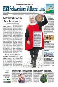 Schweriner Volkszeitung Hagenower Kreisblatt - 10. November 2018