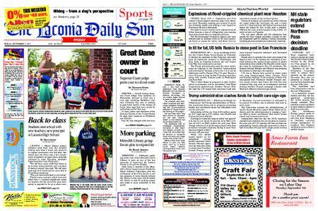 The Laconia Daily Sun – September 01, 2017
