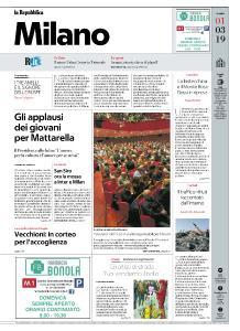 la Repubblica Milano - 1 Marzo 2019