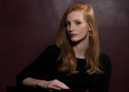 Jessica Chastain by Dan MacMedan for USA Today
