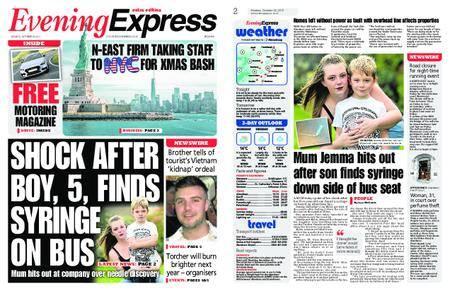 Evening Express – October 23, 2017