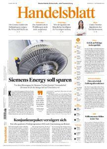 Handelsblatt - 1 September 2020