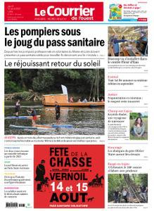 Le Courrier de l'Ouest Angers – 12 août 2021