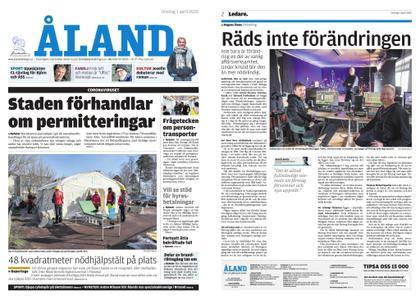 Ålandstidningen – 01 april 2020